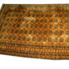 "10' X 6'9"" Black & Gold Afghan Pattern Carpet  (Y)"