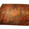 "12'4"" X 8' Red & Blue Persian Pattern Carpet  (Y)"