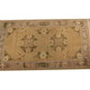 "7'2"" X 4' Brown & Cream Hamadan Rug  (Y)"