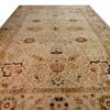 "24'9""X 15' Cream, Green & Pink Floral Decor 'agra' Carpet  (Y)"
