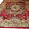 "18'2"" X 12' Red, Cream & Green Royal Savonnerie Rug  (Y)"