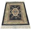 3'x 2' Black, Green & Fawn Oriental Style Slip Mat  (Y)