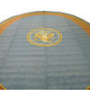 "29'8""X 24' Oval Office Presidential Carpet In 4 Sections  (Y)"