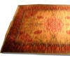 11' X 8' Pink & Cream Hamadan Carpet  (Y)