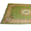 15' X 10' Green & Cream Chinese Pattern Carpet  (Y)