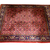 "8' X 7'10"" Red & Blue Hamadan Carpet  (Y)"