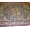 "11'6"" X 8'6"" Red Cream & Blue Persian Style Carpet  (Y)"