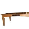 Bentley Maple/Chrome Slats Rec 'albany Coffee Table