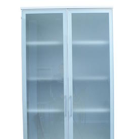 2m X 1m Ali Trim Frosted Glass 2 Door Dennis Cupboard