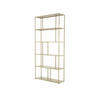 Large Gold Aero Shelf Unit