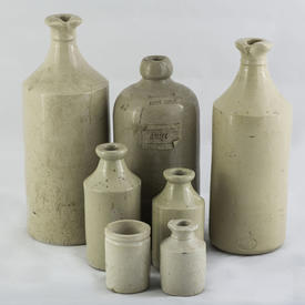 Vintage Pottery Bottles