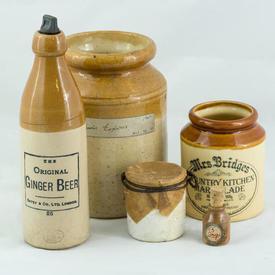 Vintage Bottle And Jars