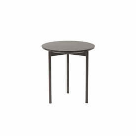"Circ 2 Tone Brown Lacquer ""Etoile"" Lamp Table"