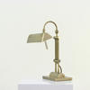Brass Spindle Column Desk Lamp