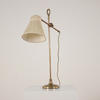 Brass Stem Adjustable Arm Desk Lamp