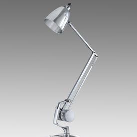Polished Chrome 'horstmann' Counter Balance Anglepoise Desk Lamp.