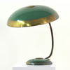 Brass And Green Ornamental Retro Saturn Desk Lamp