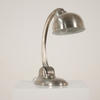 Industrial Functional Desk Lamp In Antique Nickel