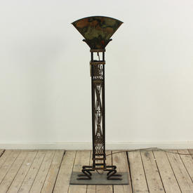 3'11 Metal / Brass Fan Shape 30S Style Uplighters