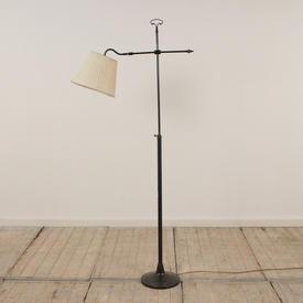 Black ADjustable Arm Standard Lamp