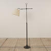 Black Adjustable Arm Standard Lamp  (Y)
