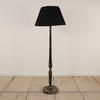 Black And Gold Chinese Lacquered Standard Lamp  (Y)
