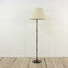 Mottled And Black Finish Metal Pencil Thin Standard Lamp  (Y)