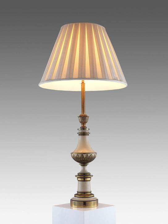 Old times cream brass 30 french style table lamp aloadofball Images
