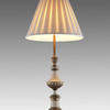 "Cream & Brass 30"" French Style Table Lamp  (Y)"