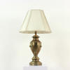 Brass Urn Shaped Lamp With Lions Heads  (Y)