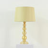 Murano Glass Gold Speckled Ball Table Lamp