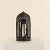 "12"" Cast Iron Dome Shaped Hanging Candle Holder  (Y)"