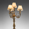Antique Bronze 4 Light Candelabra Table Lamp  (Y)