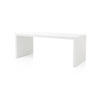 White And Black Grid Desk (81cm X 180cm X H72cm)