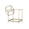 Small Gold Metal Hypercube