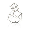 Brushed Metal Hypercube