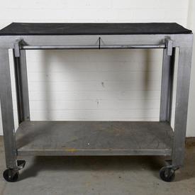 Wheeled Garage Table