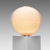 Rotaliana White Flow Stepped Plastic Ball Table Lamp