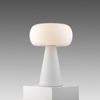 Segno White Frosted Glass  Alice   Table Lamp