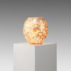 Gold Mosaic Bulbous Table Lamp  (, Vintage)