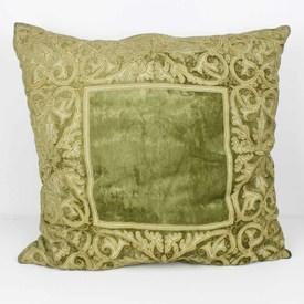 Large Antique Gold Floor Cushion