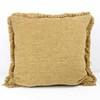 "21"" Square Gold Cord Cushions  (Y)"