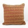 Red And Gold Damask Pattern Cushion  (Y)