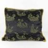 Black Chinese Pattern Cushion  (Y)