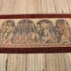 "10'x 4'11"" King Herod & The Innocents Tapestry With Burgundy Border (Y)"