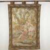 "5' X 3'4"" Ladies & Gent In Victorian Garden Tapestry  (Y)"