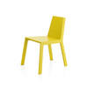 Lime Green Wooden Logica Dining Chair