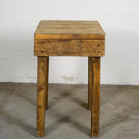 Wood Stool / Stand