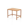 Large Rect. Teak Retro Lamp Table (47 Cm H X 60 Cm X 40 Cm) (Also Available In 2 Other Sizes, Vintage)