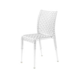 """Crystal Perspex """"Ami Ami"""" Dining Chair"""